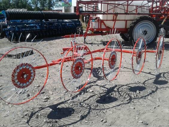Грабли Сонечко 4-х колёсные