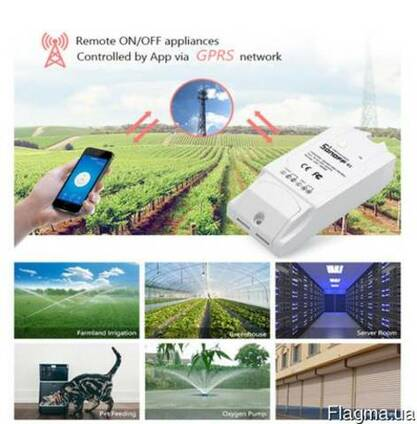 Sonoff G1 GPRS/GSM/WiFi беспроводное модуль реле таймер