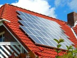 Сонячні панелі, батареї, солнечные батареи, панели.
