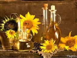 Соняшникова домашня олія (нерафінована) фільтрована