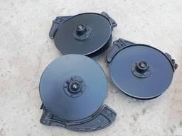 Сошник Для сеялок СЗ (сталь 65Г БОР) обычный, смещенный, узкорядный. Запчасти к СЗ
