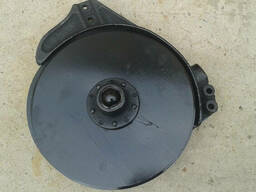 Сошник зерновой сеялки СЗ-3,6 со смещенными дисками (сталь 3