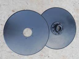 Диск сошника Н 154. 00. 424 СЗ сошника без ступицы, со ступицей. Запчасти СЗ.