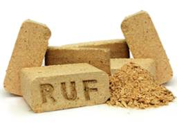 Топливные брикеты RUF ( смешанные лиственные породы)