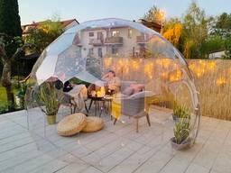 SotaDome Прозрачная беседка для сада и загородного дома