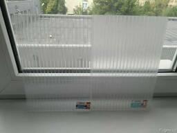 Сотовий полікарбонат 10 мм прозорий Carboglass