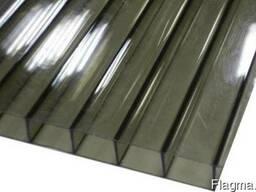Сотовый бронзовый поликарбонат 2. 1*6. 0м, толщиной 4мм