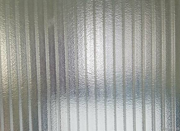 Сотовый поликарбонат 10 мм прозрачный колотый лёд, Карбоглас