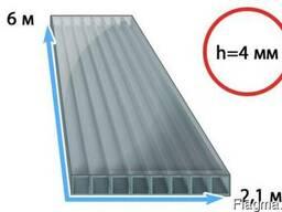 Сотовый поликарбонат 4 мм