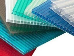 Сотовый поликарбонат 8 мм цвет