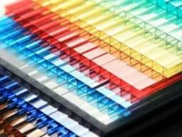 Сотовый поликарбонат 6 мм цвет