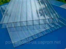 Сотовый поликарбонат Novattro 4 мм, прозрачный