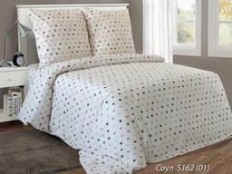 Соул - постельное белье с сердечками (белорусская бязь 100%)
