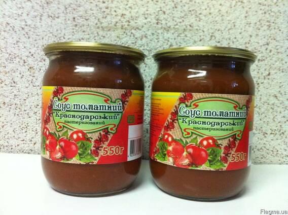 """Соус томатный """"Краснодарский"""" 0,5 л"""