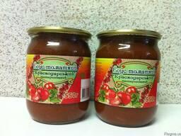 """Соус томатный """"Краснодарский"""" 0, 5 л"""