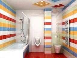 Ванная Совмещенная с Туалетом Двери/Сантехника