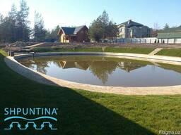 Создаём искусственные водоёмы, озёра , пруды шпунт ПВХ