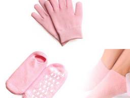 SPA набор, гелевые носки, перчатки, увлажняющие, 1 пара