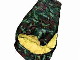 Спальный мешок, до -30С, спальник, с капюшоном, туристический, теплый , зимний, рыбацкий,