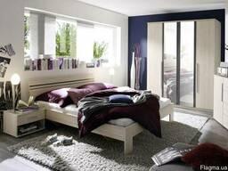 Меблі Хельветія виготовлена з ДСП і МДФ різних кольорів, що