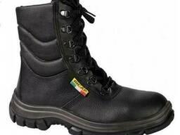 Специальные рабочие ботинки утепленные