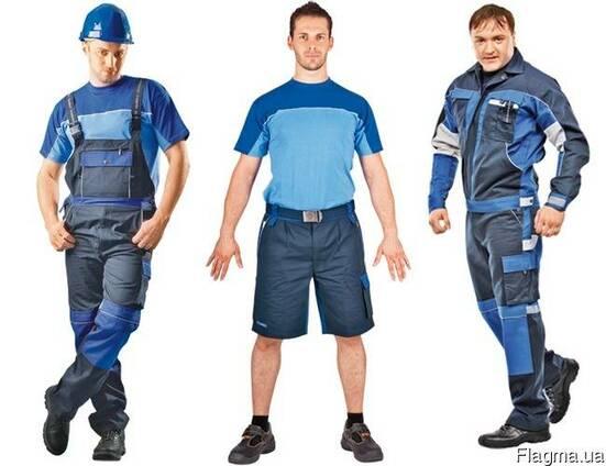 Спецодежда, костюмы рабочие, бриджи, шорты, полукомбинеи