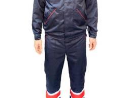 Спецодежда рабочий костюм синий костюм рабочий с полукомбинезоном спецодежда демисезонная