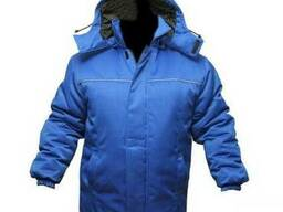 Спецодежда, утеплённая рабочая куртка.