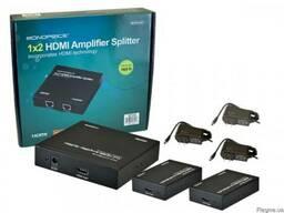 Сплиттер MP-HDMI 1x2 на 50 метров с приемниками в комплекте