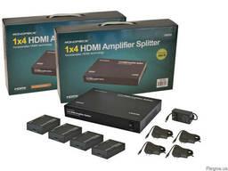 Сплиттер удлинитель 1×4 hdmi CAT5e/6 (MHSP0104E) Monoprice U