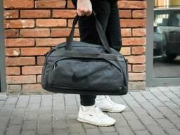 Спортивная мужская сумка Nike FR-X серая