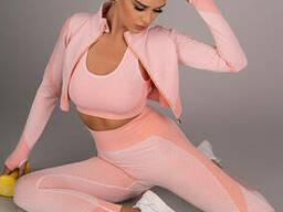 Спортивний костюм Merribel Gym 714, Рожевий, L