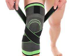 Спортивный фиксатор колена (наколенник, бандаж для колена)