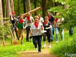 Спортивный тимбилдинг на природе