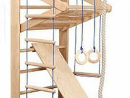 Спортивный уголок, стенка, шведская для детей «Bambino 3-220»