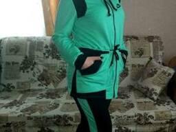 Спортивный женский костюм (50-54), доставка по Украине