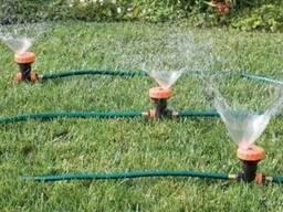 Спринклерная автоматическая система полива газона