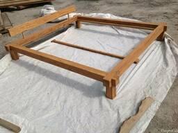 Sprzedaży dębowe łóżko