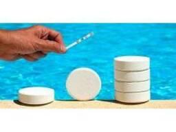 Средства (химия) для чистоты и дезинфекции воды в бассейне