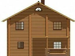 Срубы деревянного дома 126 м2