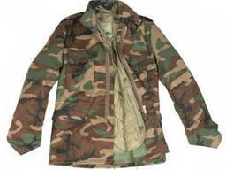 США куртка М65 с подстежкой вудленд