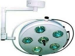 ССветильник операционный L2000 6-II шестирефлекторный потоло