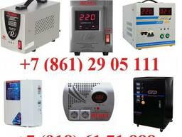Стабилизаторы от 0,5 кВа до 200 кВа