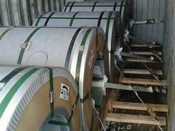 Перетарка контейнеров - рулонная сталь, листы, трубы AISI