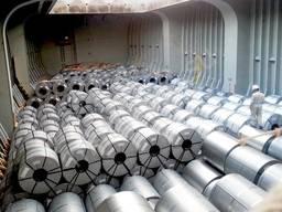 Оцинкованный металл в рулоне размеры на складе