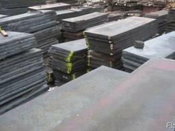 Полоса сталь ХВГ (ст ХВГ) 16мм / 20 / 25 / 30мм х 500 х1700