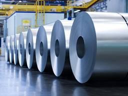 Оцинкованная рулонная сталь 0. 36; 0. 45; 0. 65; 0. 75мм