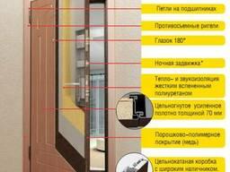 Стальная Входная Дверь с Шумоизоляцией