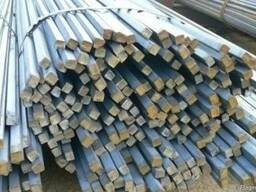 Стальной квадрат 16 - 250 мм сталь 40Х