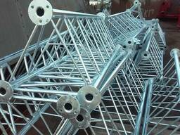 Стальные металлические конструкции - изготовление